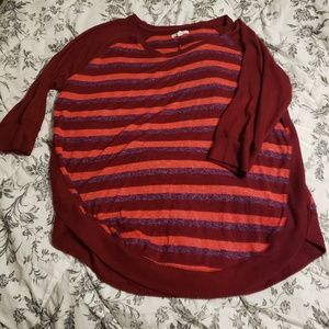 Maurice's 3/4 sleeve sweater size L
